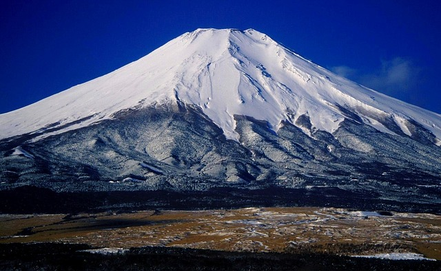 mount fuji, japan, landscape, mountains, nature