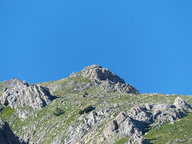 mountain, mountain peak, alpine, maritime alps