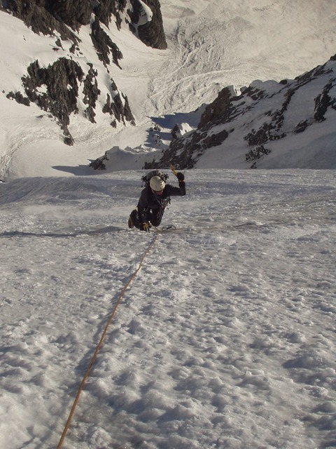 mountaineering, ice, ice wall, north wall, winter, snow
