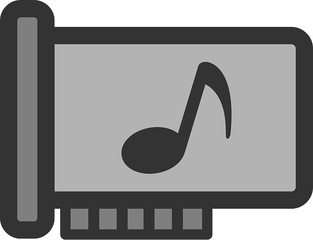 music, flat, card, media, theme, sound, icon