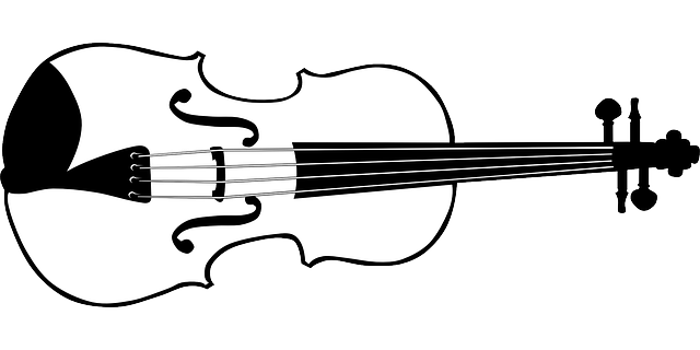 music, outline, drawing, silhouette, recreation