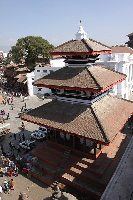 nepal, kathu dumplings, the old temple, palace