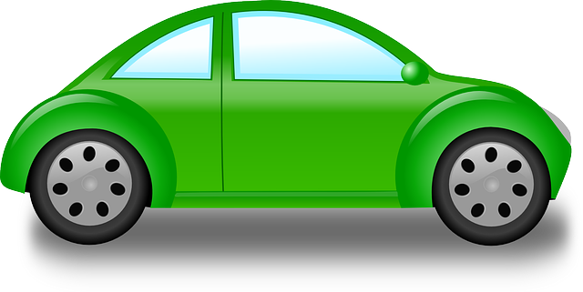 new, green, outline, drawing, car, cartoon, bug, free