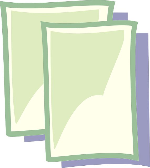 new, icon, paper, document, theme, blank