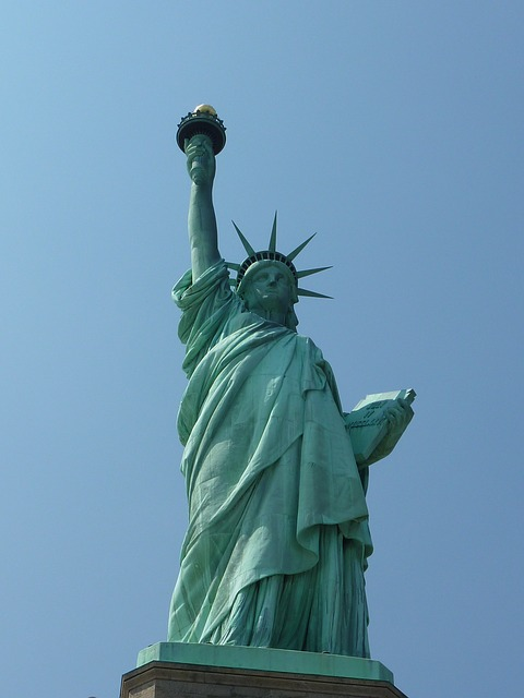 new york, statue of liberty, near, bruise