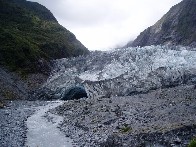 new zealand, north island, franz josef glacier