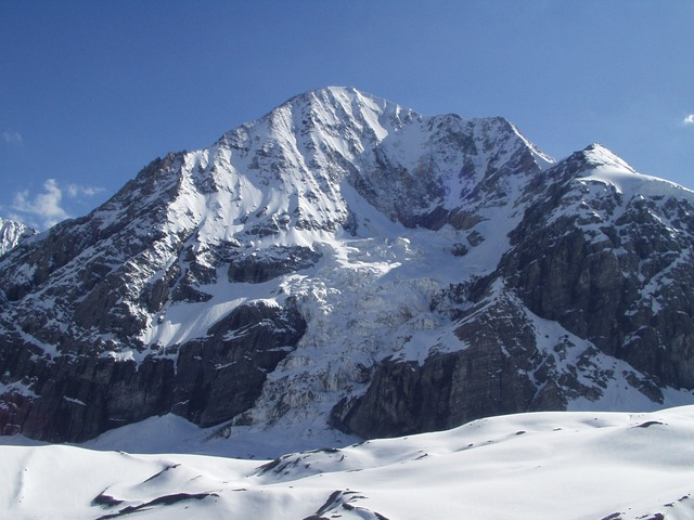 north wall, königsspitze, alpine, mountains, ice wall