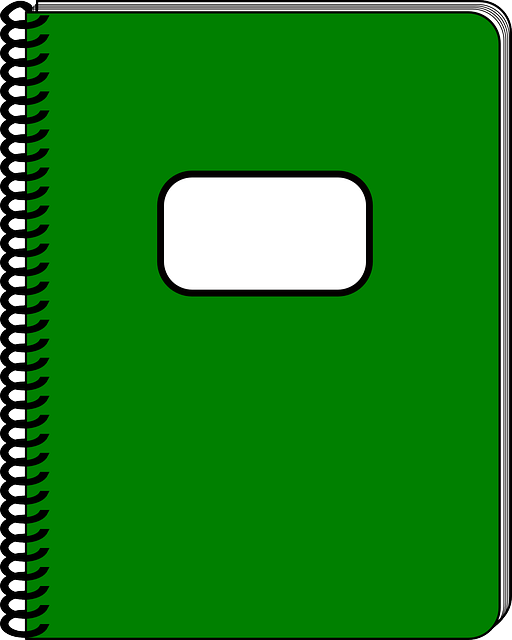 notebook, office, writing, paper, notes, organizer