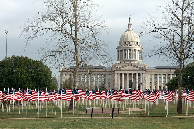 oklahoma, children, abuse, flags for children, symbolic