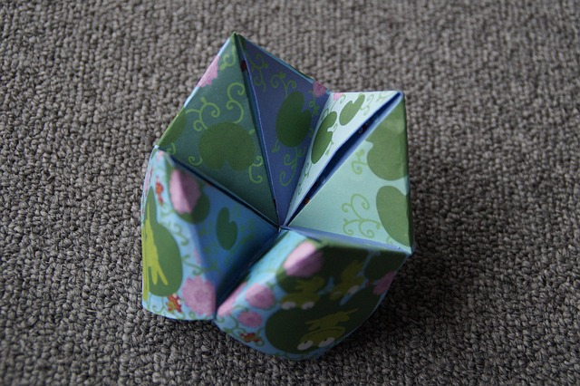 origami, heaven and hell, folded, paper, colorful