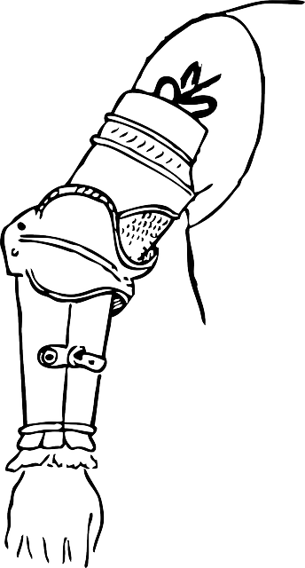 outline, clothing, points, automatic, medieval
