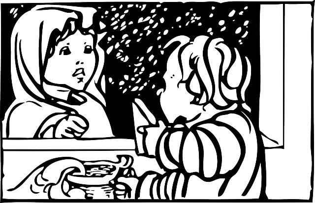 outline, people, kid, kids, child, have, automatic