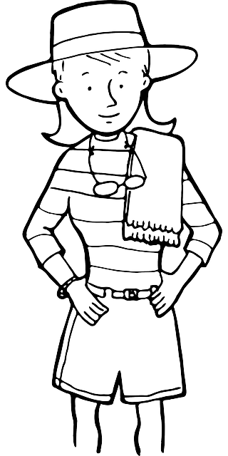 outline, people, woman, girl, kids, face, person