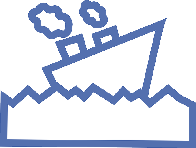 outline, sailing, cartoon, smoke, ship, boat, motor