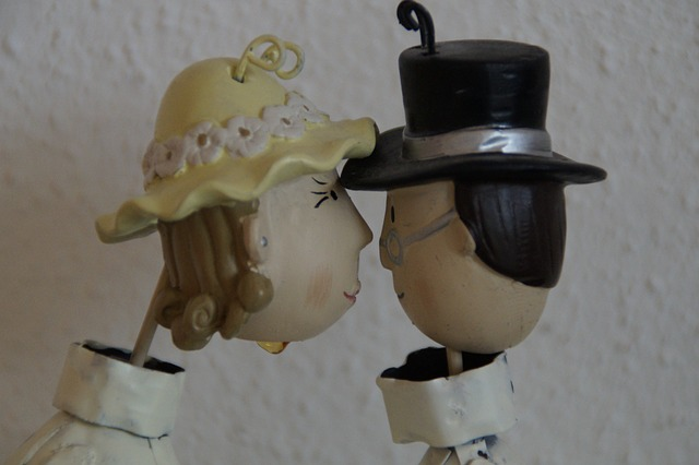 pair, marry, wedding, man and woman, together, love