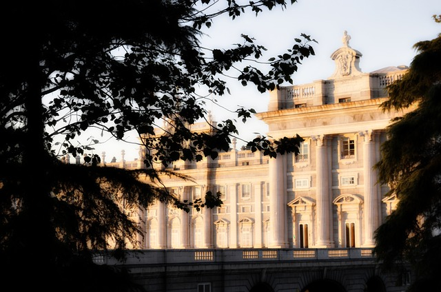 palace, royal, madrid, tourism, architecture, view