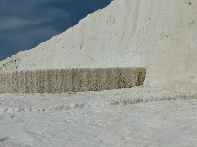 pamukkale, lime sinter terrace, calcium, speleothems