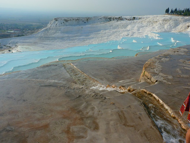 pamukkale, world heritage, unesco, lime sinter terrace