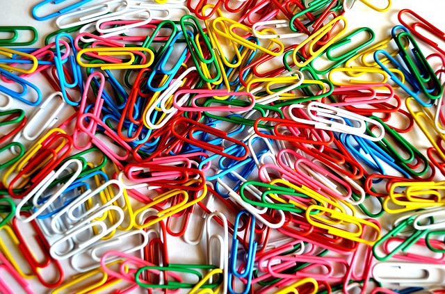 paper, clips, background, business, job, macro