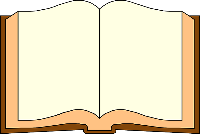 paper, open, book, read, blank, pages, page, reading