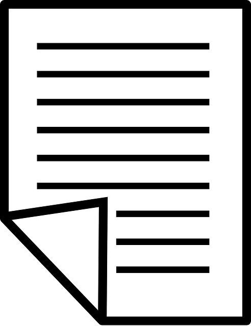paper, symbol, office, document, text, lines