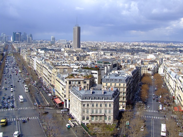 paris, france, city, urban, buildings, streets, skyline