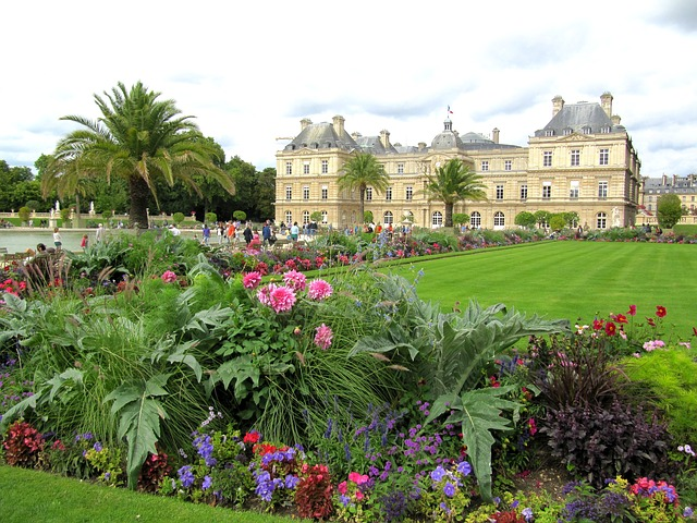 paris, france, landscape, palace, architecture