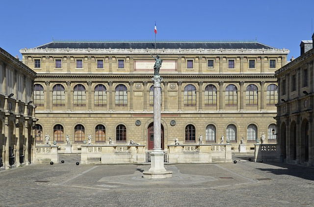 paris, france, statue, monument, city, architecture