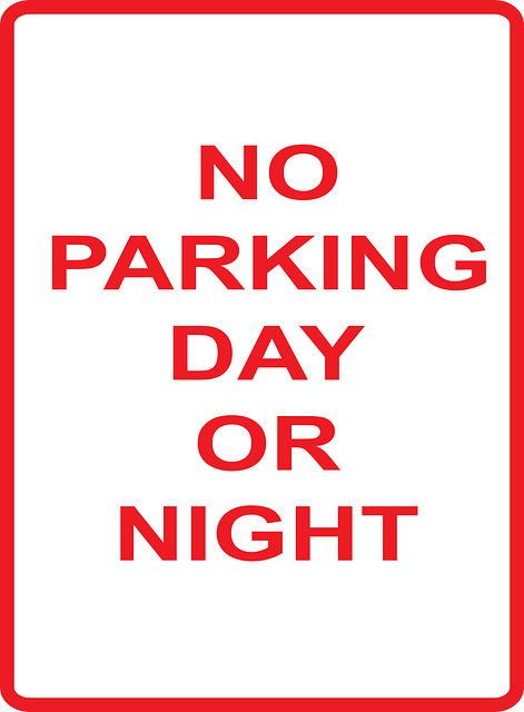 park, sign, information, parking, day, night, forbidden