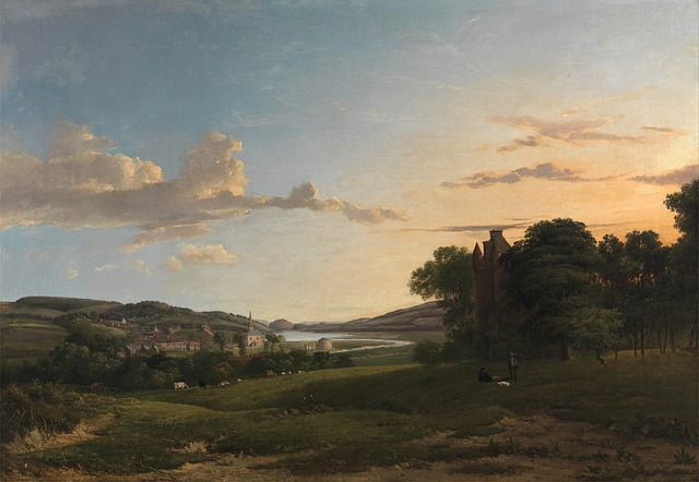 patrick nasmyth, painting, oil on canvas, artistic