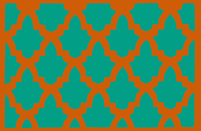 pattern, tile, decorative, eastern, arabian, moroccan