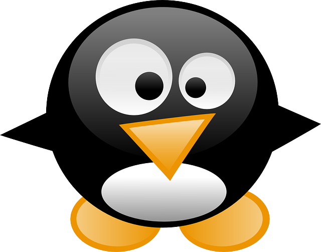 penguin, tux, animal, baby, linux, cartoon, bird, cute