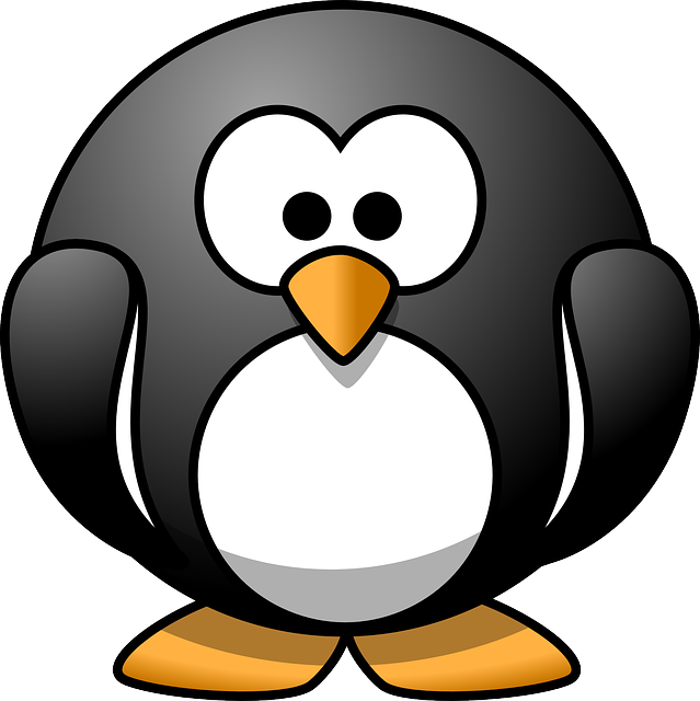 penguin, tux, bird, animal, funny, cute
