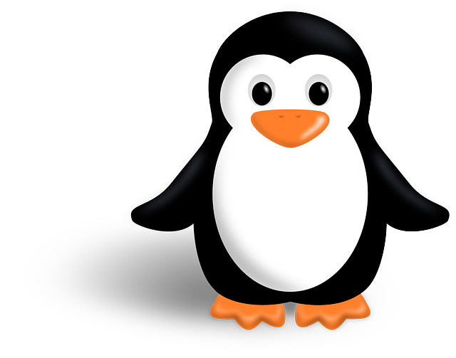 penguin, tux, linux, animal, bird, little, child