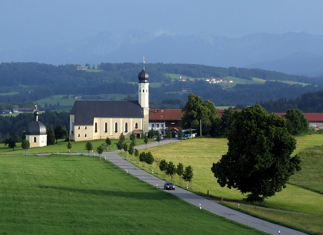 pilgrimage church, church, place of pilgrimage
