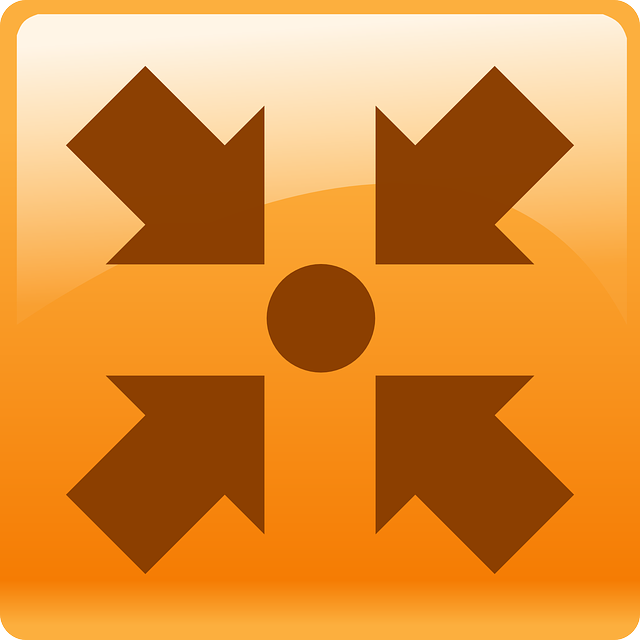 point, orange, style, meeting, arrows, dot, arrow