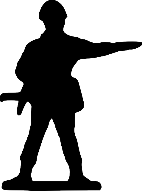 point, silhouette, cartoon, stand, toy, soldier