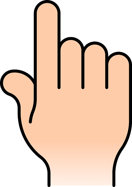 pointer, pointing, index finger, hand, point