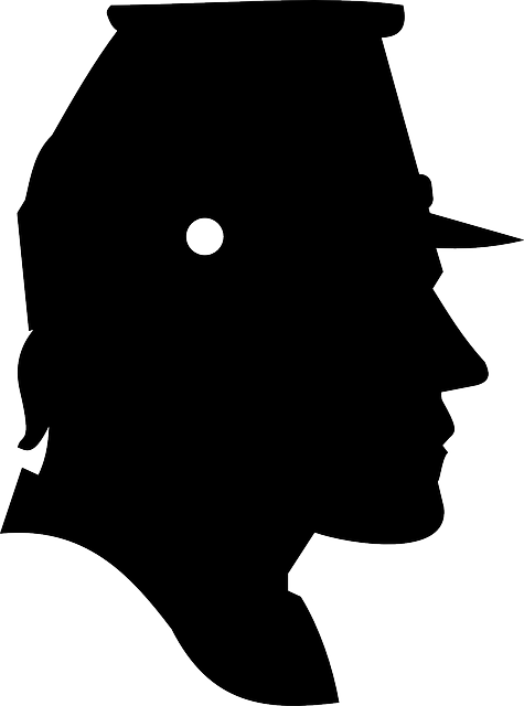 portrait, man, profile, confederate, male, silhouette