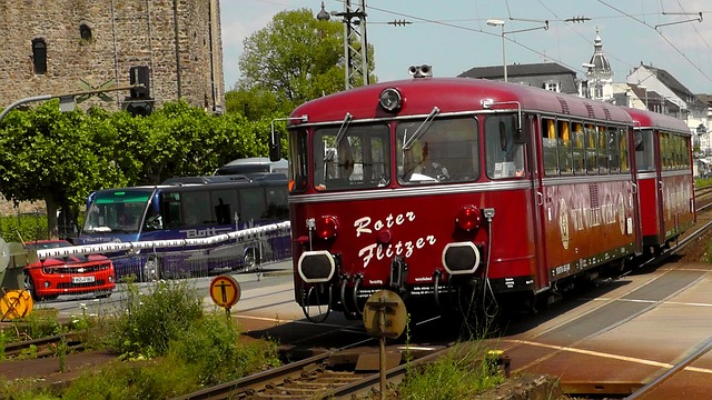 railbus, railway, old, oldie, rail vehicle