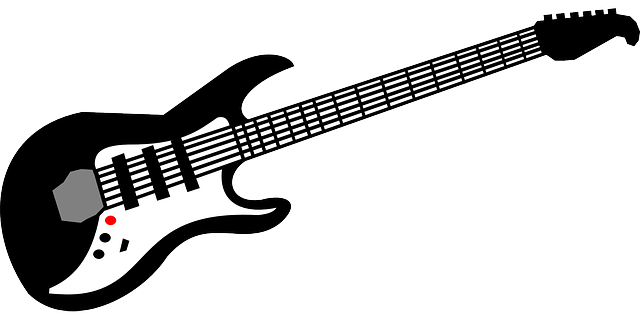 red, black, music, electronic, blue, outline, symbol