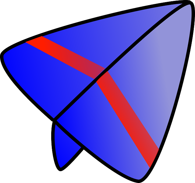 red, blue, paper, airplane, purple, glider, picture