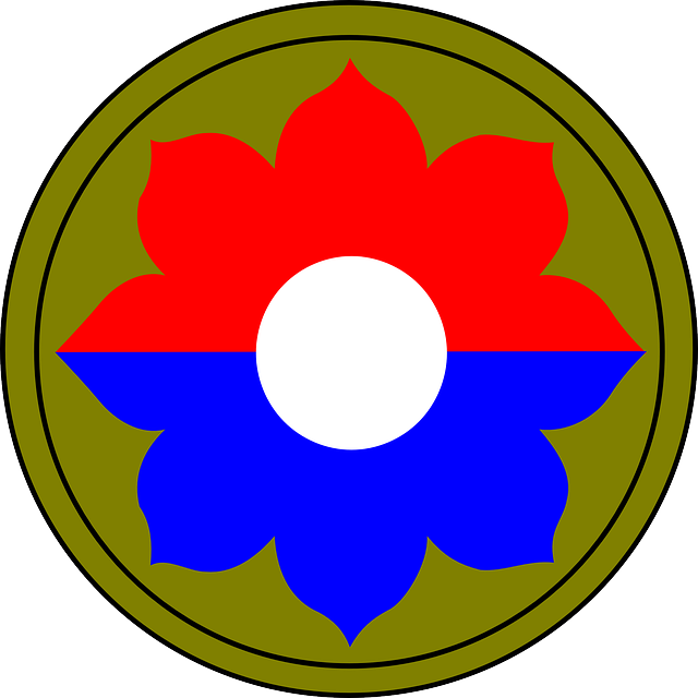 red, green, blue, flower, plant, patch, infantry