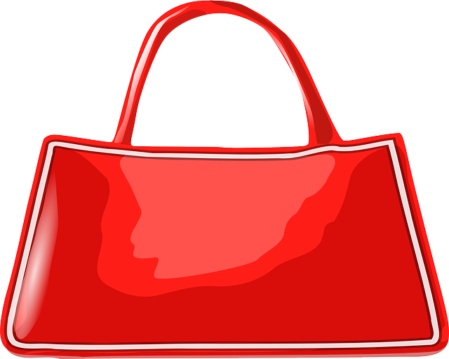 red, hand, cartoon, bags, shoe, shoes, bag, leather