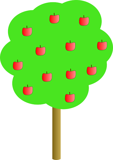 red, michael, apple, fruit, apples, outline, drawing