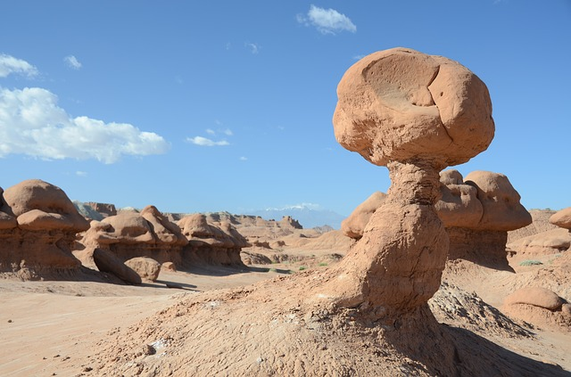 rocks, rock, scenery, utah, goblin valley, desert