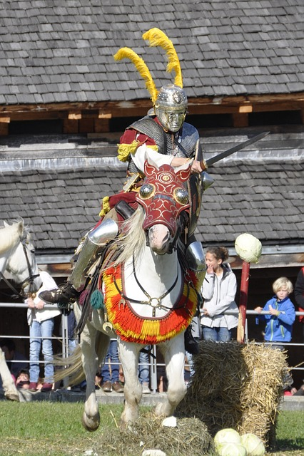 romans, reiter, cavalry, fight, horse