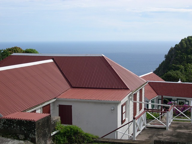 roof, red, architecture, building
