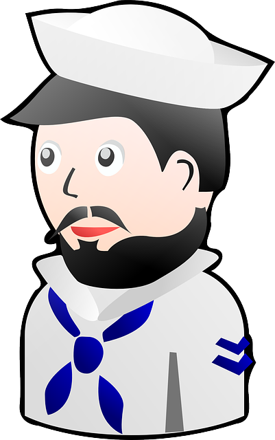 sailor, card, kids, hat, cap, toy, play, beard, lego