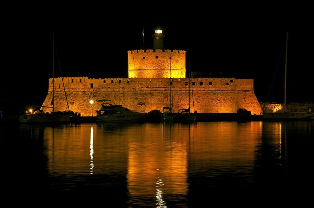 saint nicholas, fort, fortress, historical, greece